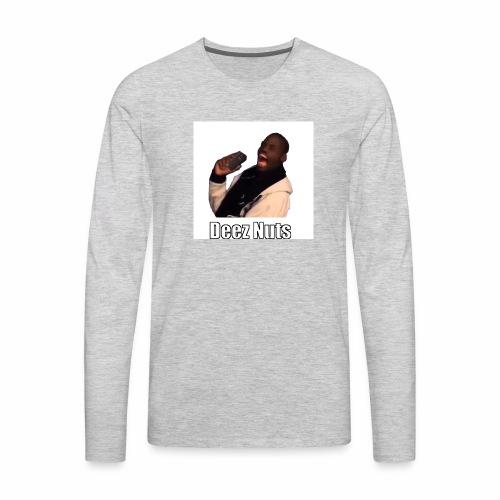 Deez Nuts - Men's Premium Long Sleeve T-Shirt