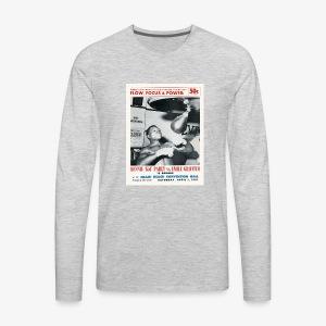 Flow, Focus & Power - Men's Premium Long Sleeve T-Shirt