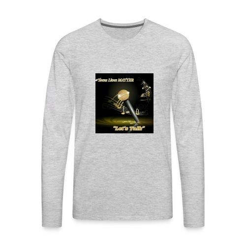 Teens matter - Men's Premium Long Sleeve T-Shirt