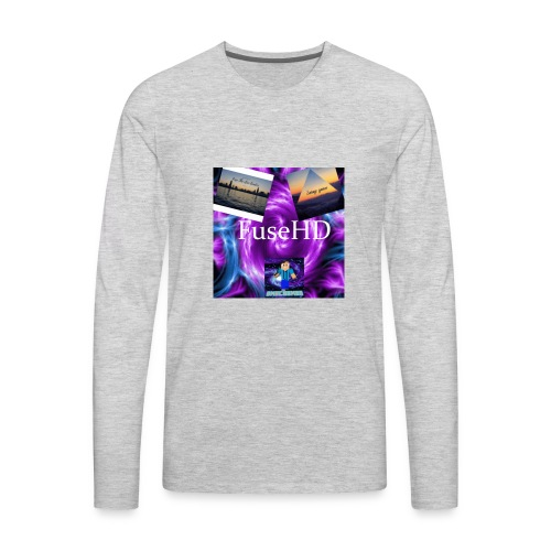 Fuse clan hd - Men's Premium Long Sleeve T-Shirt