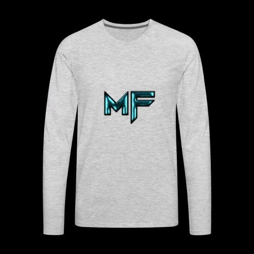 MysticFate Logo - Men's Premium Long Sleeve T-Shirt