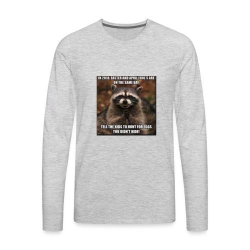 funny - Men's Premium Long Sleeve T-Shirt