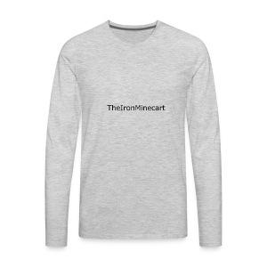 TheIronMinecart/AlexTIM Men's T-Shirts - Men's Premium Long Sleeve T-Shirt