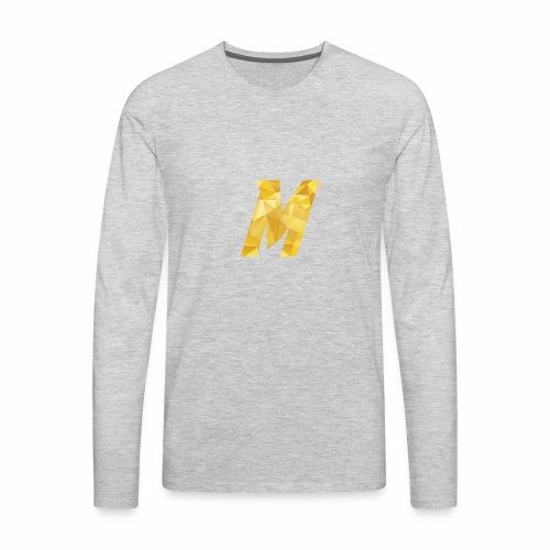 marcle31 logo - Men's Premium Long Sleeve T-Shirt