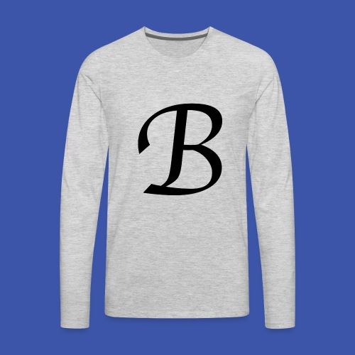 B - Men's Premium Long Sleeve T-Shirt