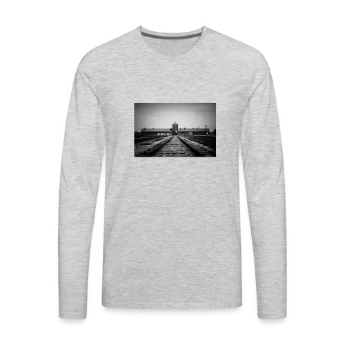 Auschwitz - Men's Premium Long Sleeve T-Shirt