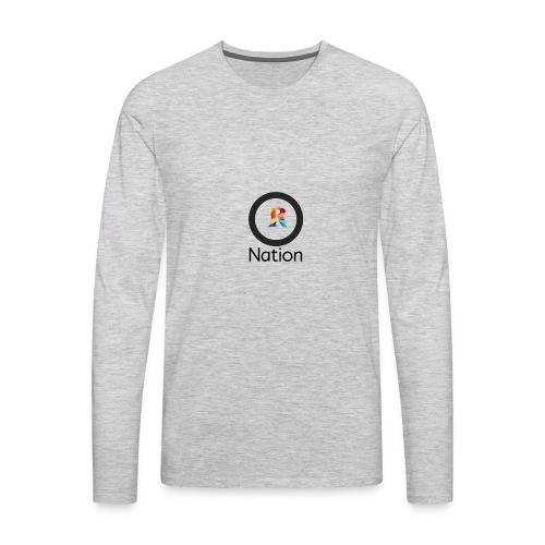 Reaper Nation - Men's Premium Long Sleeve T-Shirt