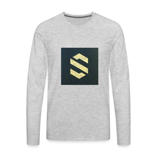 shirt online logo - Men's Premium Long Sleeve T-Shirt