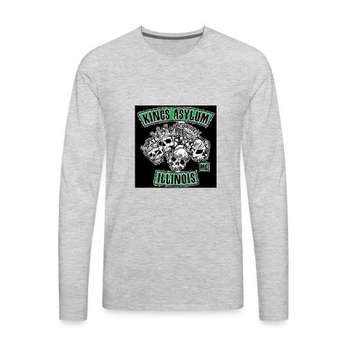 KING S ASYLUM MC color 817 S21462 - Men's Premium Long Sleeve T-Shirt