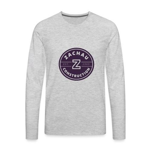 Zachau Logo - Men's Premium Long Sleeve T-Shirt