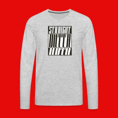 Straight Outta Hoth - Men's Premium Long Sleeve T-Shirt