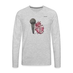 LONGLIVEPOP - Men's Premium Long Sleeve T-Shirt