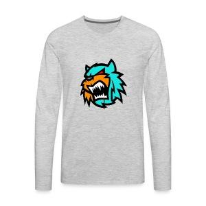 Bob cat logo Neutron - Men's Premium Long Sleeve T-Shirt