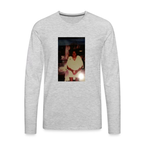 Grandma's picture - Men's Premium Long Sleeve T-Shirt