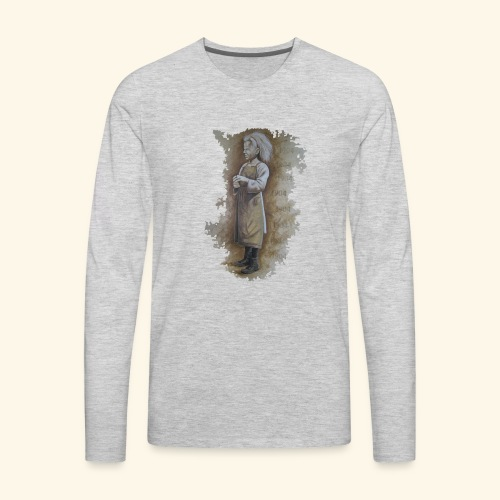 Child labourer - Men's Premium Long Sleeve T-Shirt