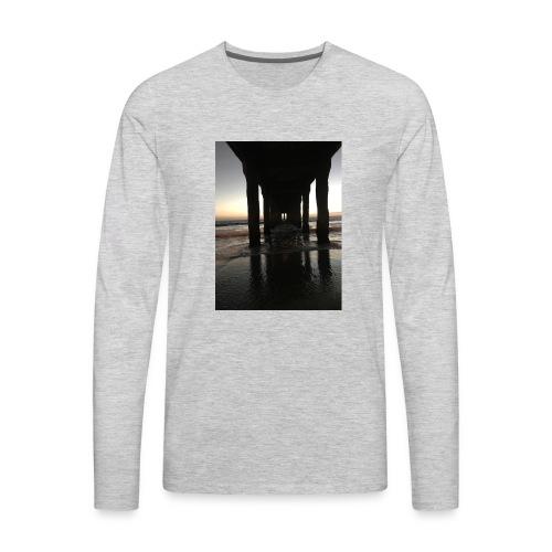 Manhattan Beach, Ca. - Men's Premium Long Sleeve T-Shirt