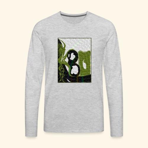 Woman - Men's Premium Long Sleeve T-Shirt