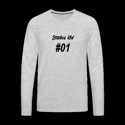 StrikerKid #1 - Men's Premium Long Sleeve T-Shirt