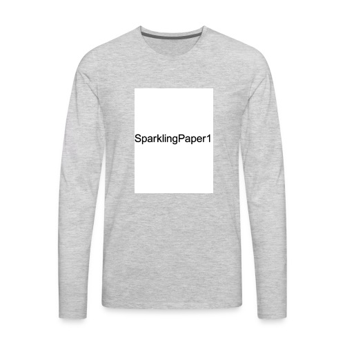 SparklingPaper1 - Men's Premium Long Sleeve T-Shirt