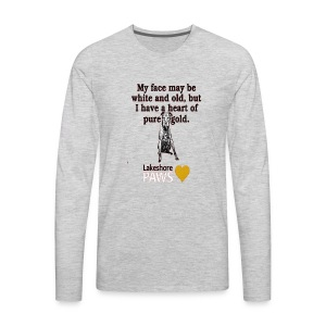 Adopt-A-Senior Dog! - Men's Premium Long Sleeve T-Shirt