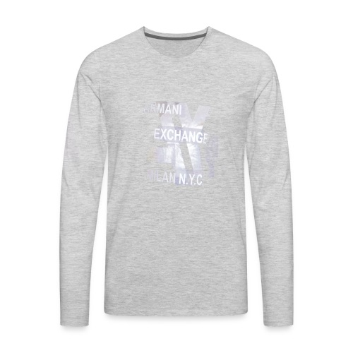 ARMA-I exchange tshirt hot - Men's Premium Long Sleeve T-Shirt