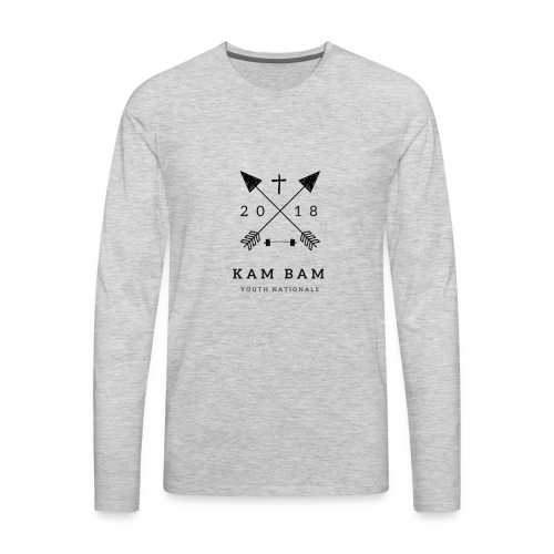 KamBam 35kg - Men's Premium Long Sleeve T-Shirt