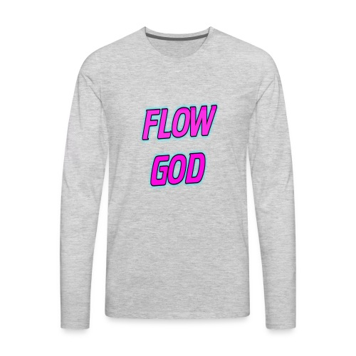 Flow God - Men's Premium Long Sleeve T-Shirt