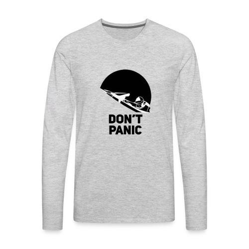 DON T PANIC at Space - Men's Premium Long Sleeve T-Shirt