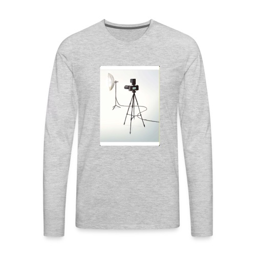 Camera 🎥 - Men's Premium Long Sleeve T-Shirt
