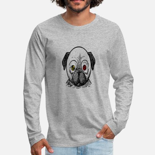 dog t-shirt - Men's Premium Long Sleeve T-Shirt
