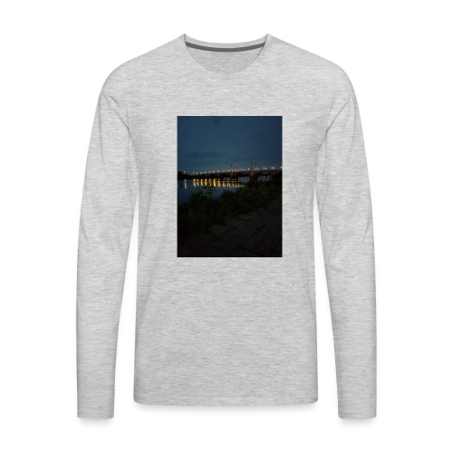 Ruslanangell17 Fundraiser - Men's Premium Long Sleeve T-Shirt