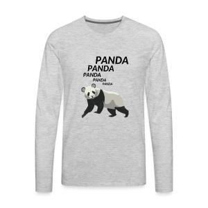 Panda Panda Panda - Men's Premium Long Sleeve T-Shirt