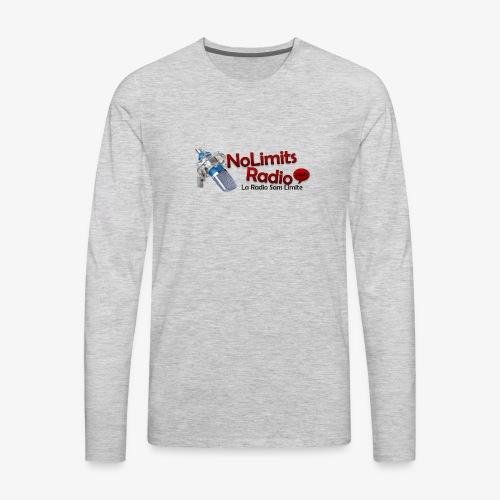 NolimitRadio - T-shirt Premium à manches longues pour hommes