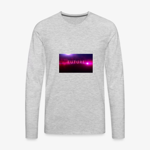 The future begins - Men's Premium Long Sleeve T-Shirt