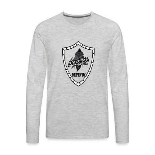 deathwish Shield - Men's Premium Long Sleeve T-Shirt