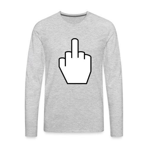 THE FINGER - Men's Premium Long Sleeve T-Shirt