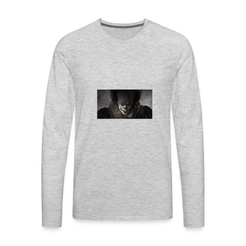 IT movie Pennywise tshirt - Men's Premium Long Sleeve T-Shirt