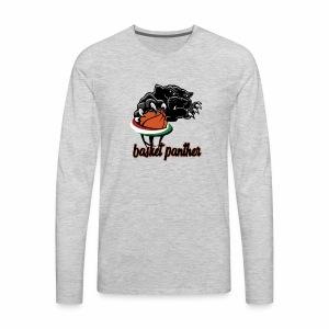 Basket panther shirts - Men's Premium Long Sleeve T-Shirt