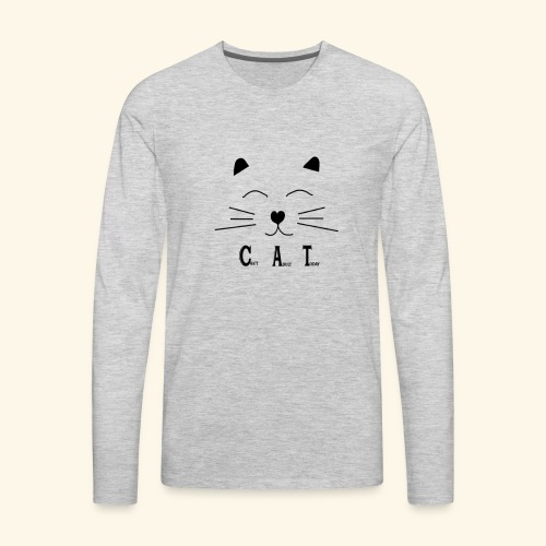 CAT - Men's Premium Long Sleeve T-Shirt