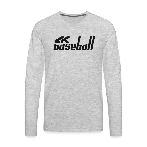 4kBaseball Official Logo - Men's Premium Long Sleeve T-Shirt