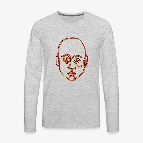 Sad! - Men's Premium Long Sleeve T-Shirt