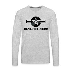 Gray Benedict Mudd - Men's Premium Long Sleeve T-Shirt