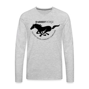 UNPREDICTABLE AND UNLIKELY WINNER - Men's Premium Long Sleeve T-Shirt