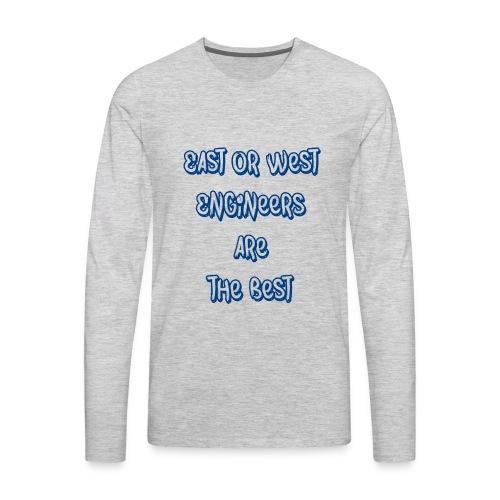 engineers blue - Men's Premium Long Sleeve T-Shirt