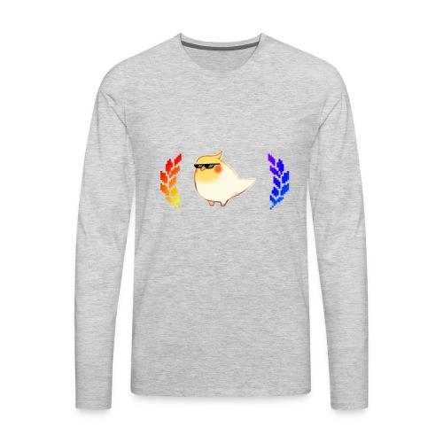 cool_birb - Men's Premium Long Sleeve T-Shirt