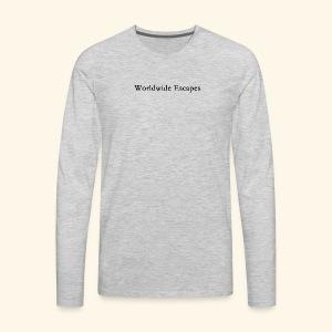 Worldwide Escapes - Men's Premium Long Sleeve T-Shirt