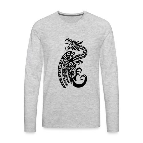 monster hunter icon - Men's Premium Long Sleeve T-Shirt