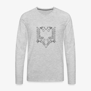 Albanian Eagle - Men's Premium Long Sleeve T-Shirt