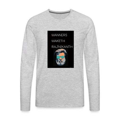 Rajnikanth Special Edition - Men's Premium Long Sleeve T-Shirt