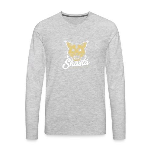 ShastaBobCat 1 - Men's Premium Long Sleeve T-Shirt